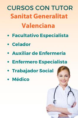 Curso con tutor - Sanitat Valencia